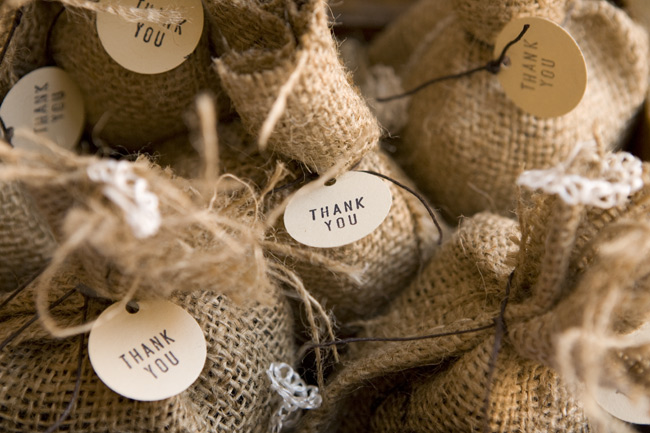 Diy Coffee Bag Favors