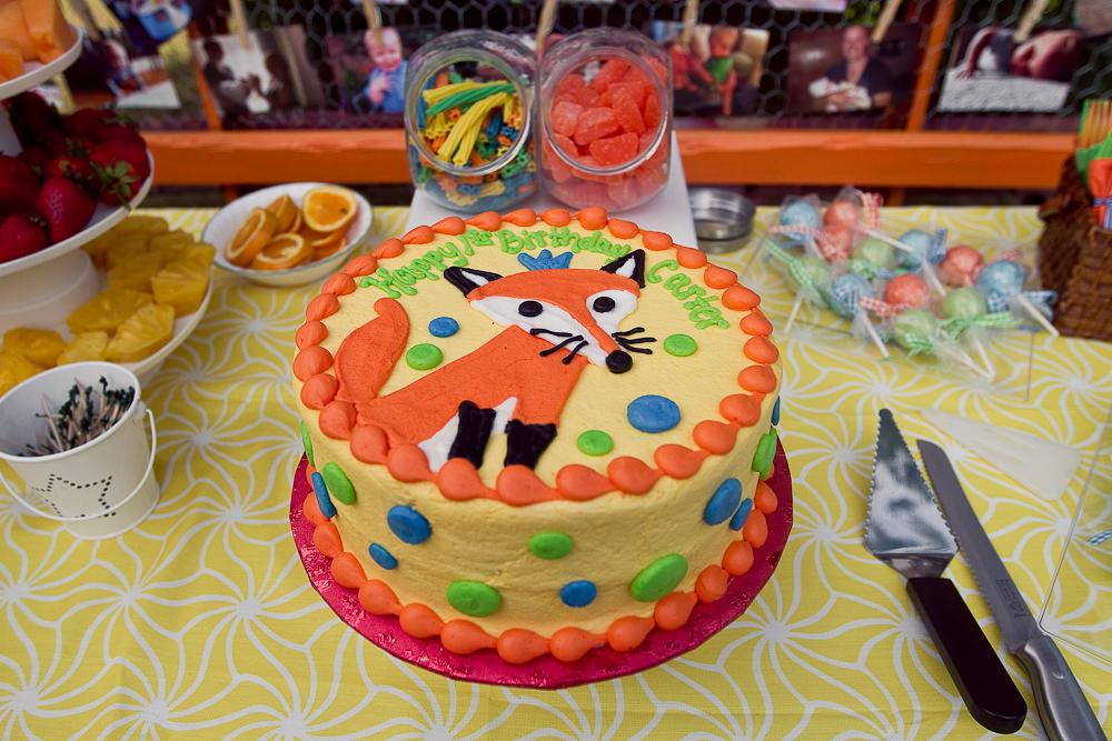 Fox Themed Birthday