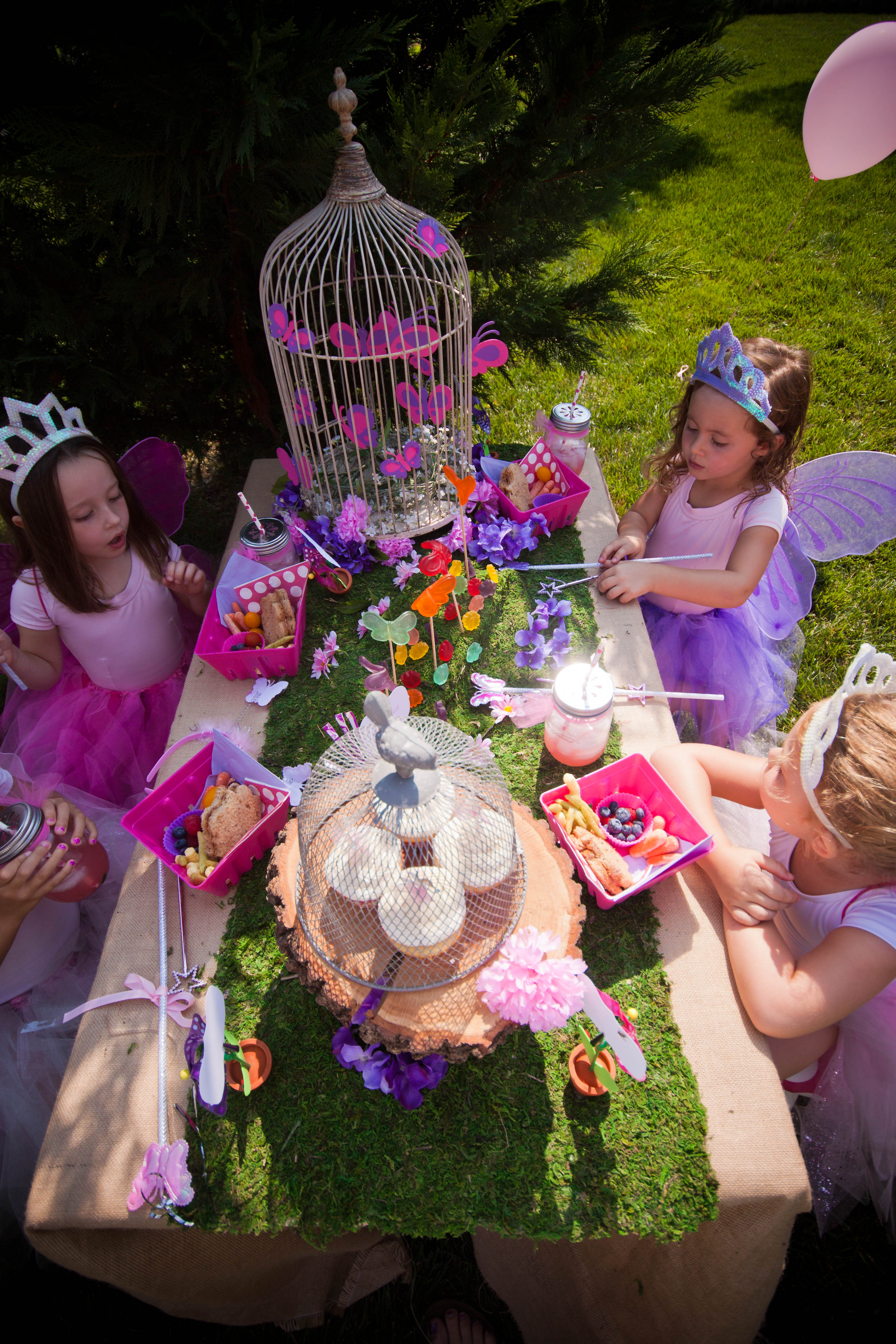 Birthday A Fairy Princess Garden Party