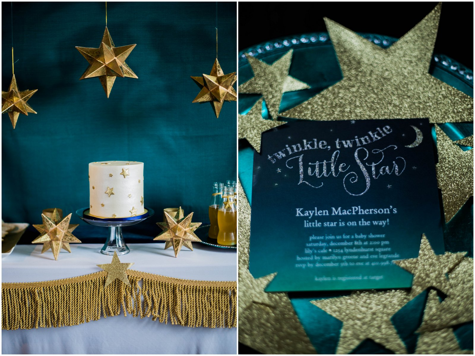 tiny prints twinkle twinkle little star we threw a baby shower